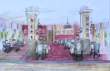 Restaurant Render1